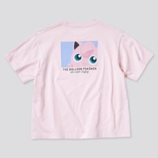 ユニクロのポケモンオールスターズUTグラフィックTシャツプリンの写真