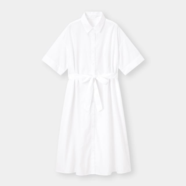 GUのシャツワンピース