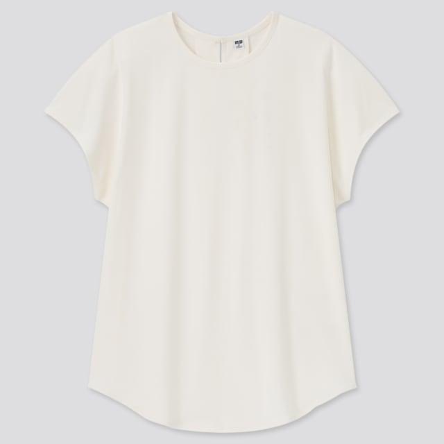 ユニクロのフレンチスリーブTシャツ