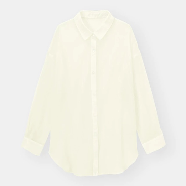 GUのシアーシャツ