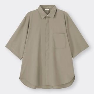 イージーケアオーバーサイズシャツ