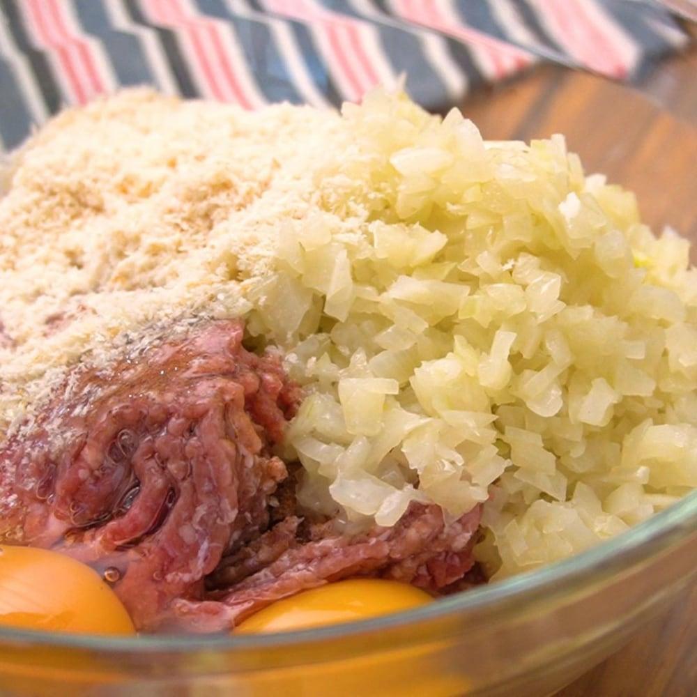 コストコの牛豚合挽肉