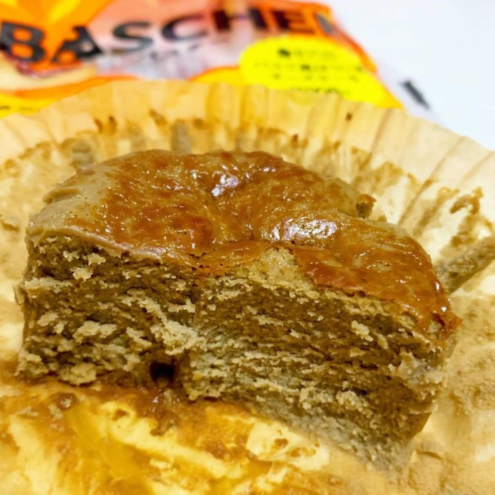バスク風ほうじ茶チーズケーキ