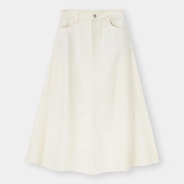 GUのデニムロングスカート