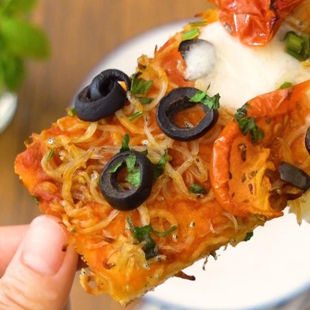 遠州灘しらすピザ