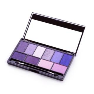 紫色を基調としたアイシャドウのパレット