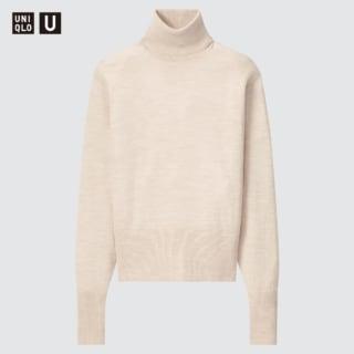 ユニクロのタートルネックセーター