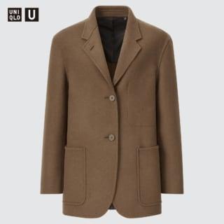 ユニクロのウールブレンドジャケット